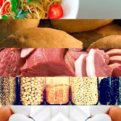 tabla de calorias y carbohidratos